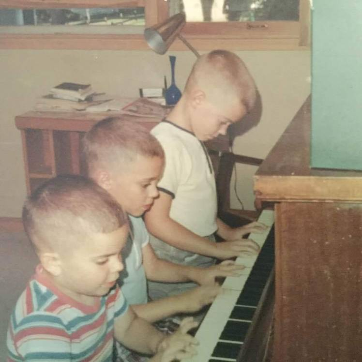 JoeyDannyBilly at piano